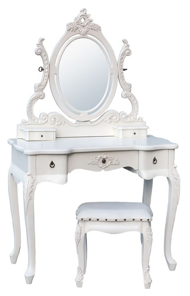 Home Kandi Antique White french rococo dressing table set  sc 1 st  Pinterest & Pin by لوليتاا .. on Ideas for the House | Pinterest | Kids cafe ...