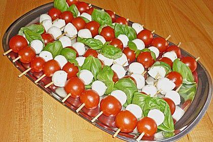 Tomaten - Mozzarella - Spieße von Aurora | Chefkoch