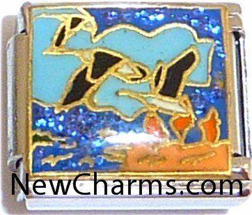 Flight Italian Charm Bracelet Jewelry