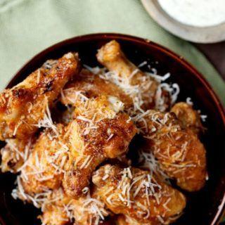 Garlic Parmesan Grilled Chicken Wings #grilledchickenparmesan Garlic Parmesan Grilled Chicken Wings #grilledchickenparmesan