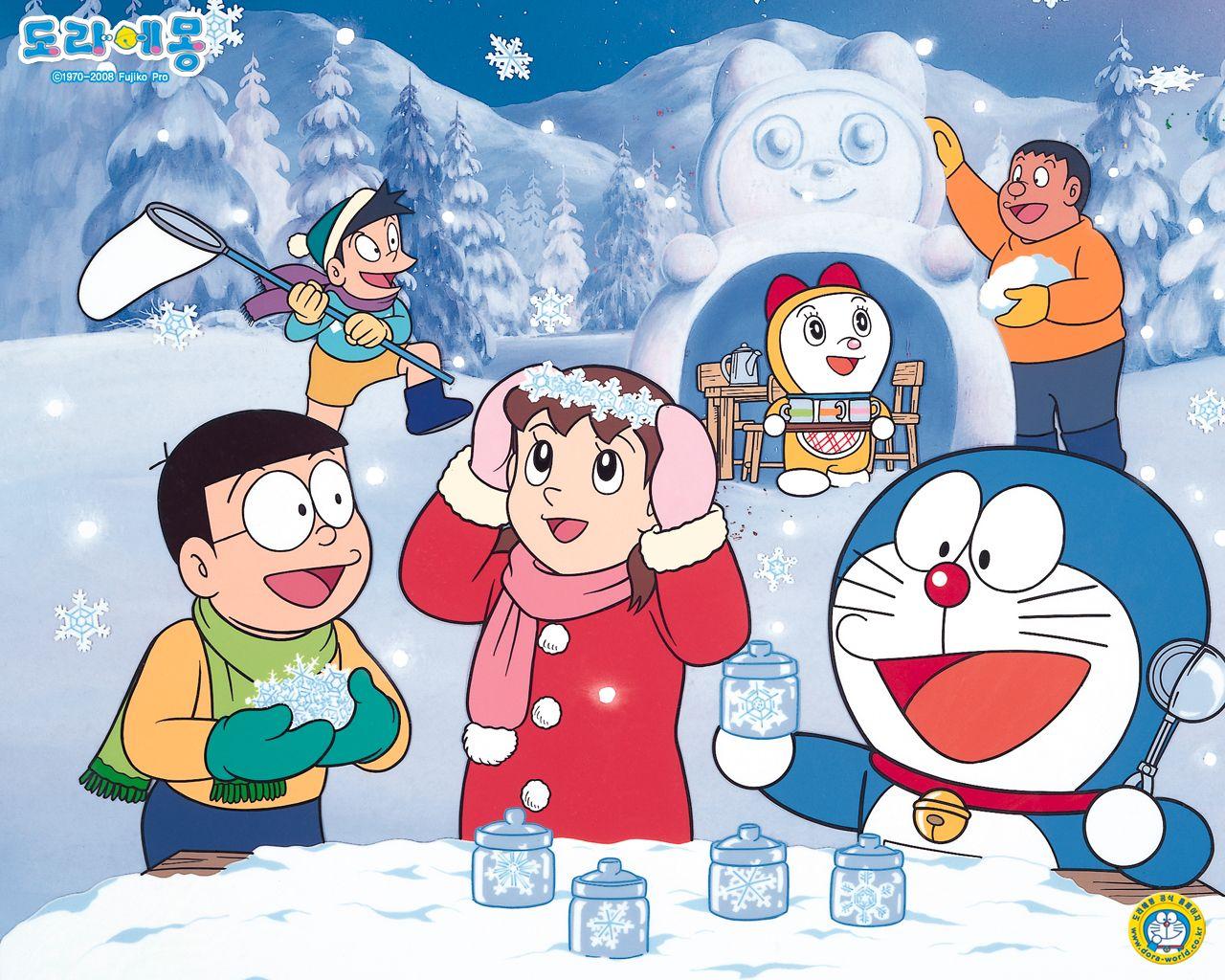 Doraemon Desktop Wallpaper Impremedia Net