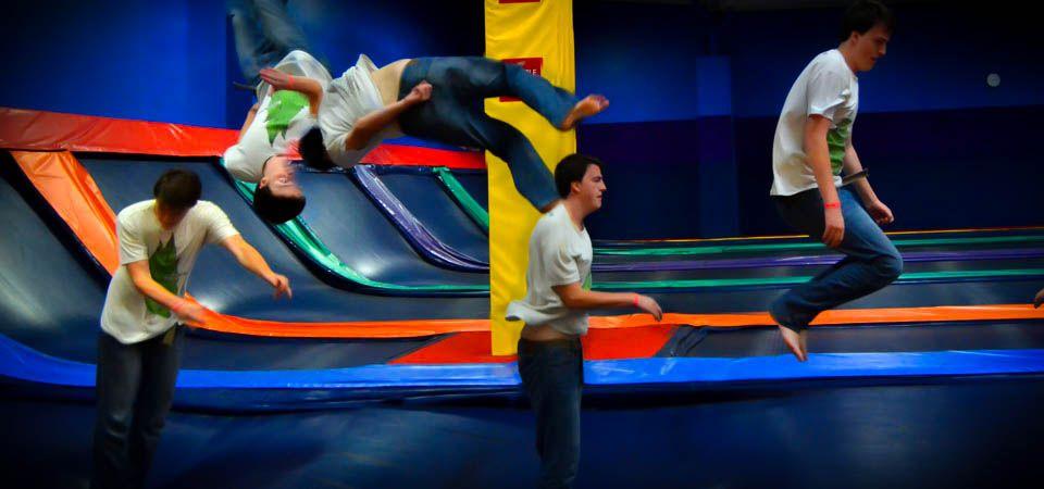 Jump Streetwalltowall trampolines! Trampoline park