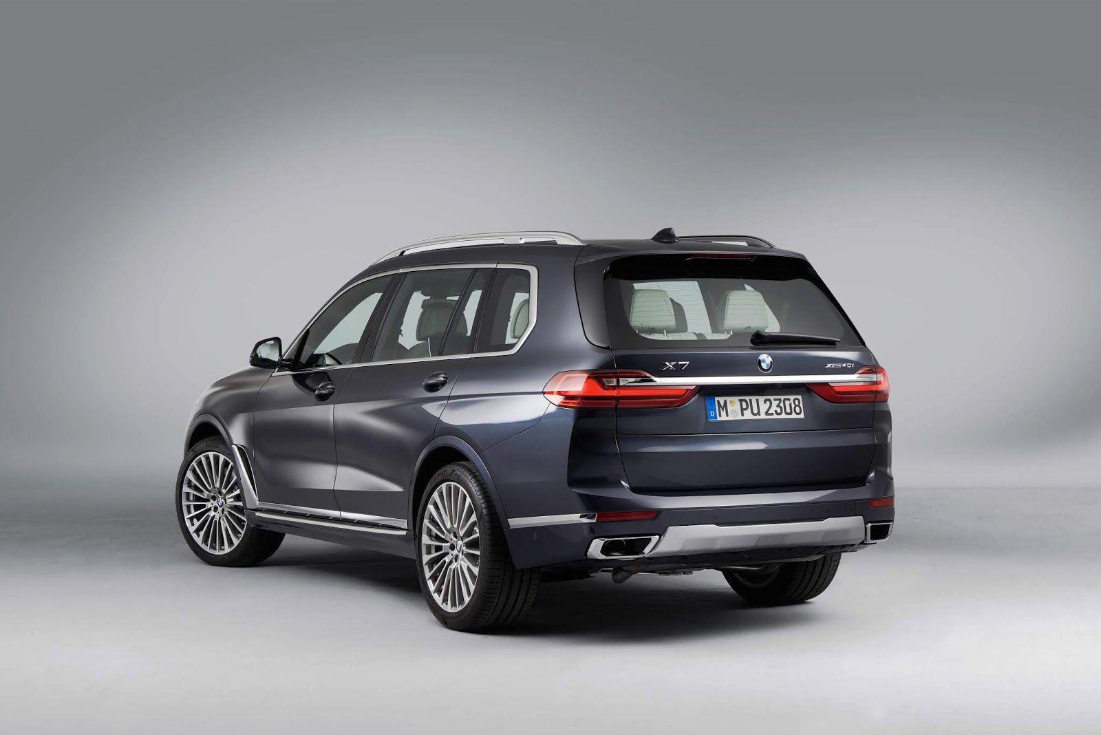 BMW X7 (G07) (2019). Гигантский 7-ми местный кроссовер BMW ...
