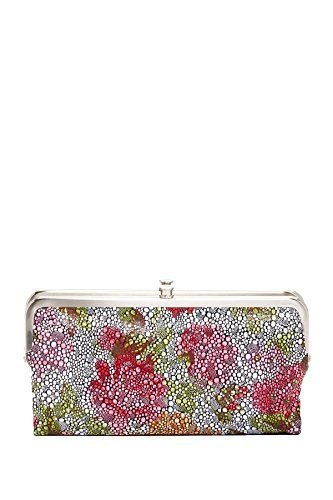 Hobo International Lauren Leather Wallet Clutch, Floral -- Continue to the product at the image link.