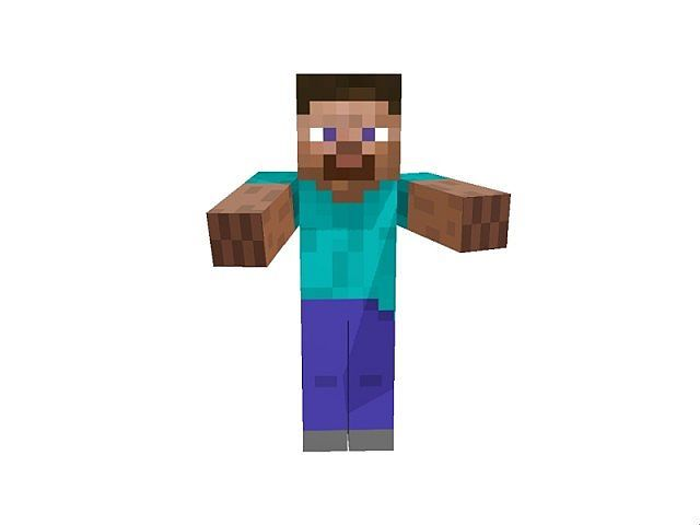 Statue of Steve Minecraft Project  sc 1 st  Pinterest & Statue of Steve Minecraft Project | Video Game Decor | Pinterest ...