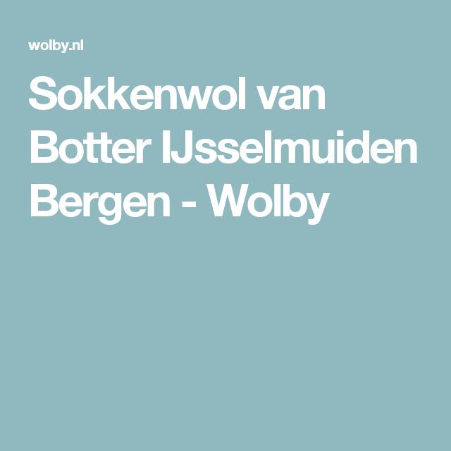 Sokkenwol van Botter IJsselmuiden Bergen - Wolby