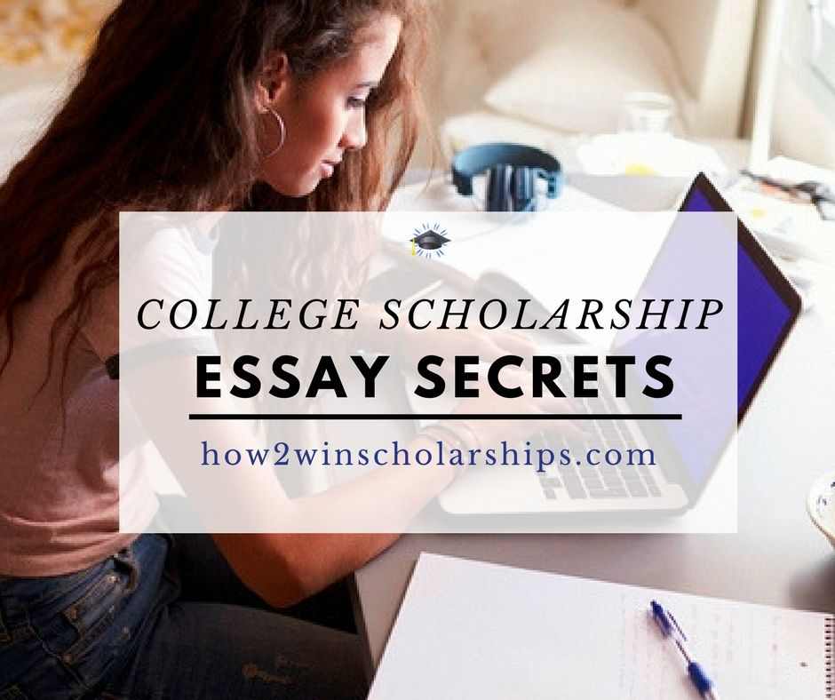 Help on scholarship essay