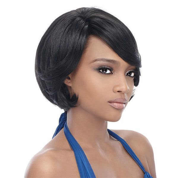Outre Synthetic Half Wig Quick Weave Complete Cap - BRIE