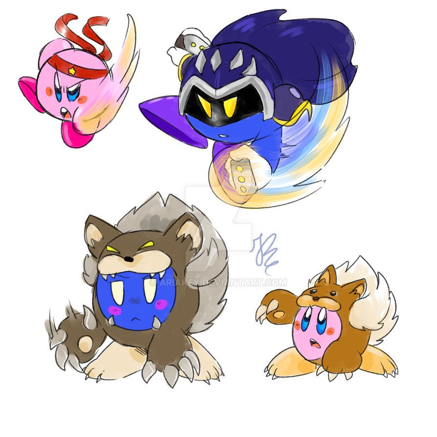 Kirby Copy Abilities part 2 by AriaKey | Kirby | Meta ...
