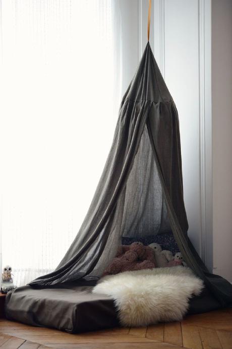 Idées déco : Un ciel de lit pour une chambre bohème et ...