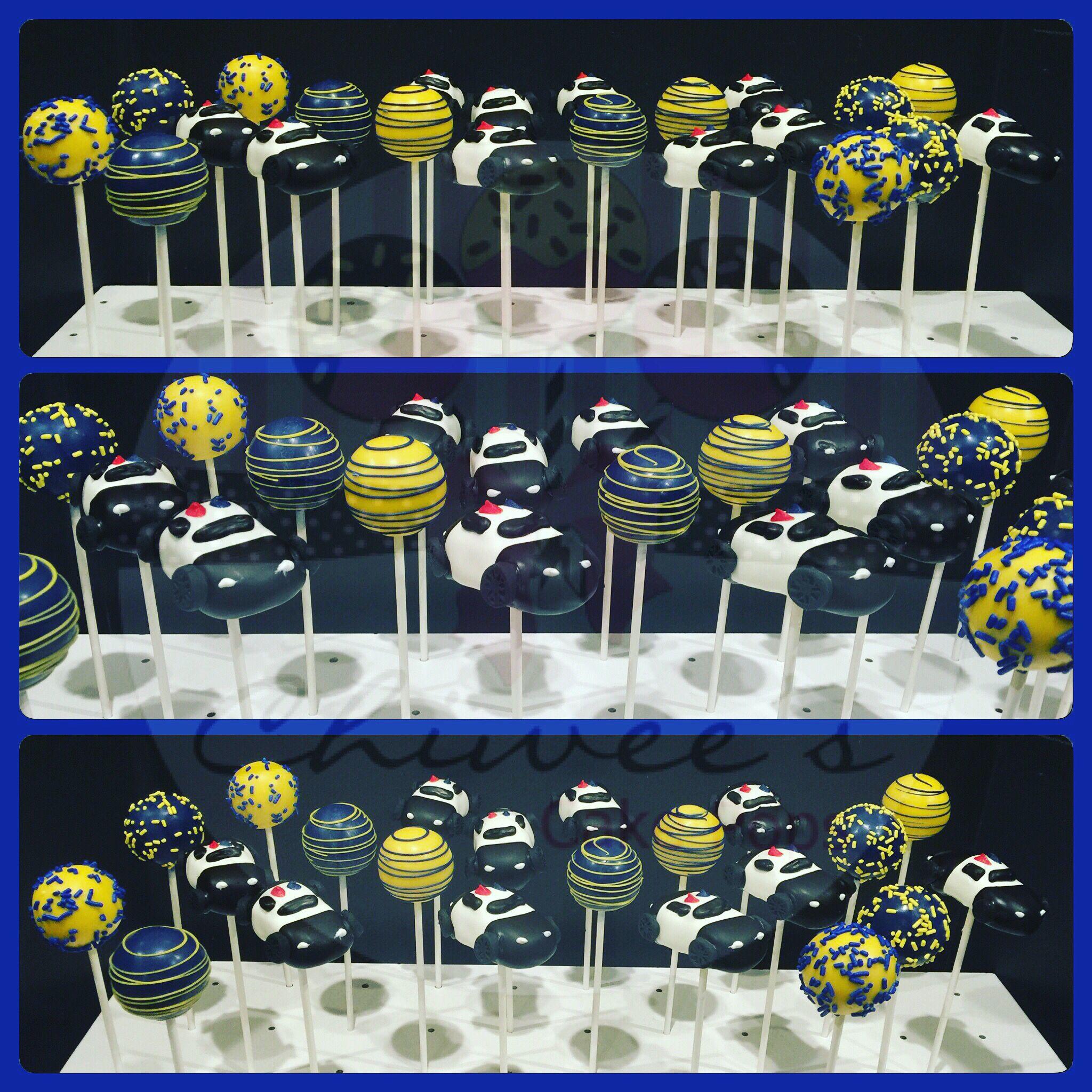 Police theme cake pops  Cake pops cake pops