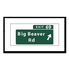 My exit to work....