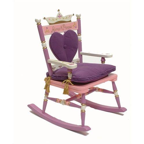 Princess Rock A Buddies Royal Kids Chair Kids Rocking Chair Rocking Chair Kids Chairs