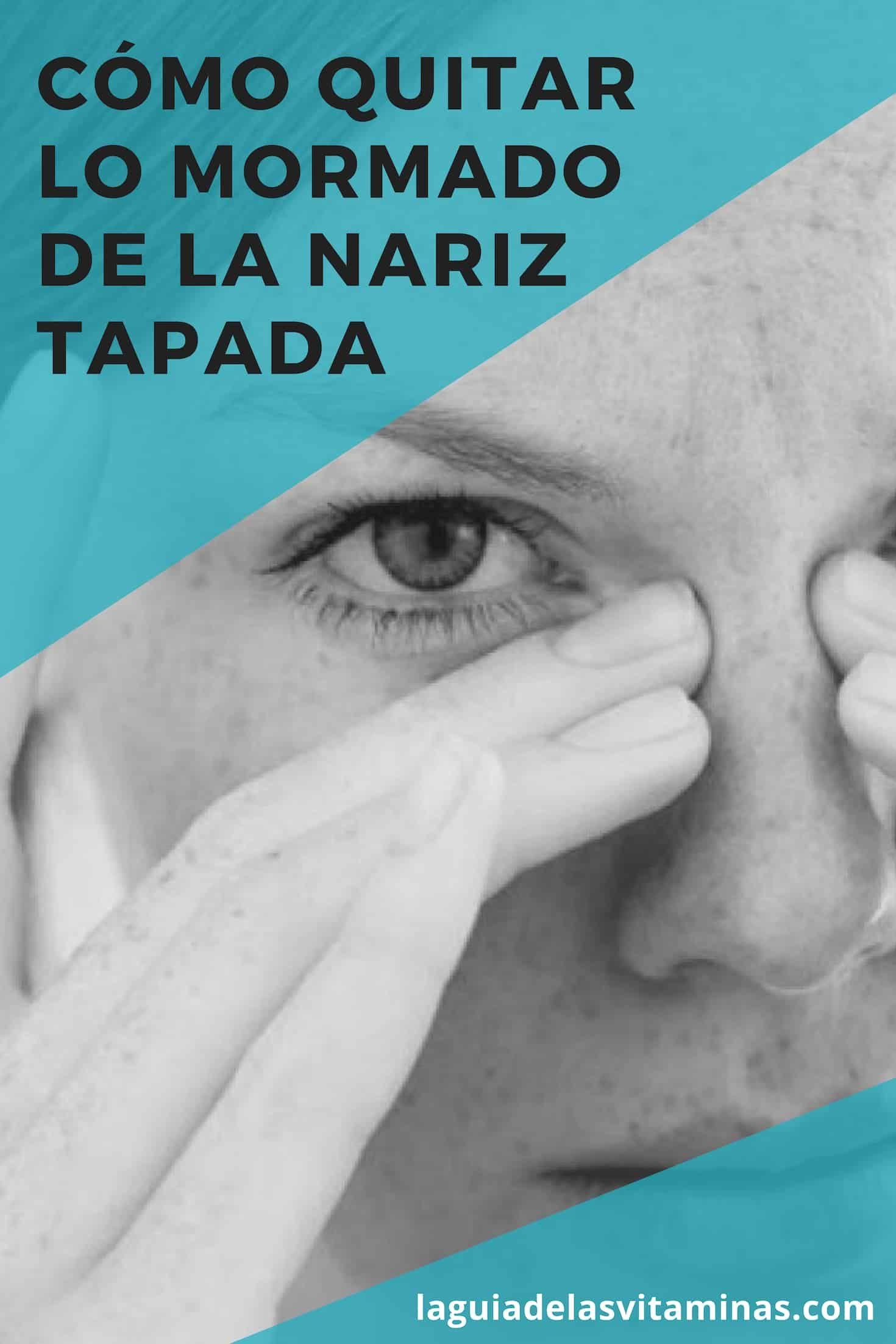 Tratamiento para la nariz tapada en la noche