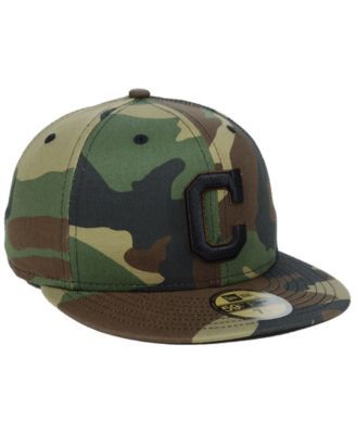 New Era Cleveland Indians Fall Prism Pack 59FIFTY-fitted Cap - Green 7 1  2f05ca495