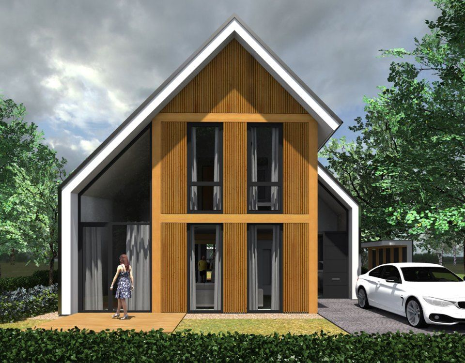Hedendaagse woning new house ideas pinterest architecture