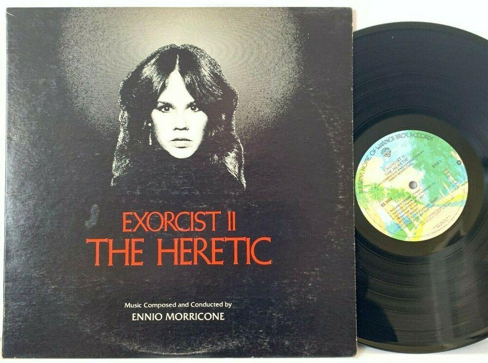 Exorcist Ii The Heretic Original Movie Soundtrack Lp Vinyl Record Album Capitolcollectibles Com Stores Eba Vinyl Record Album Vinyl Records Movie Soundtracks