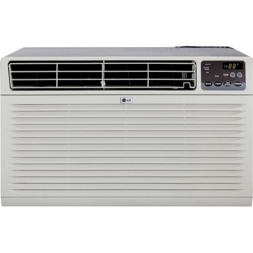 Lg Lt123cnr 11 500 Btu Through The Wall Air Conditioner With Remote Control 230 Wall Air Conditioner Small Room Air Conditioner Room Air Conditioner Portable
