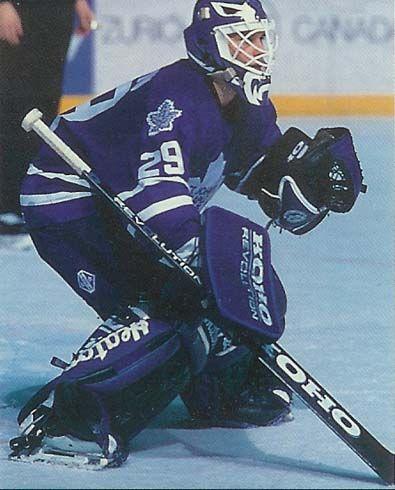 St John S Maple Leafs Goaltending History Felix Potvin Maple Leafs Hockey Goalie Goalie