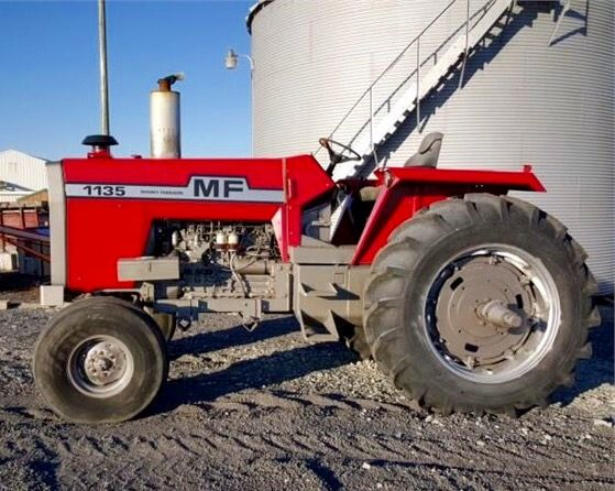Massey Ferguson 1135 tractor. Salvaged for used parts. Call 877 ...