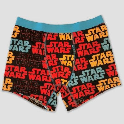 b3253df982a2 Men's Star Wars Comic Logo 2pk Boxer Briefs - Black L | Products ...