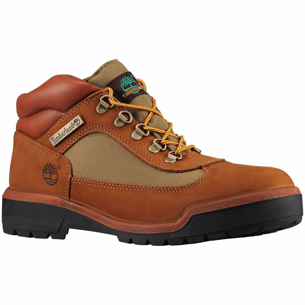 Timberland Inch Field Boots Sundanc Butters Style Mens Shoes Brown