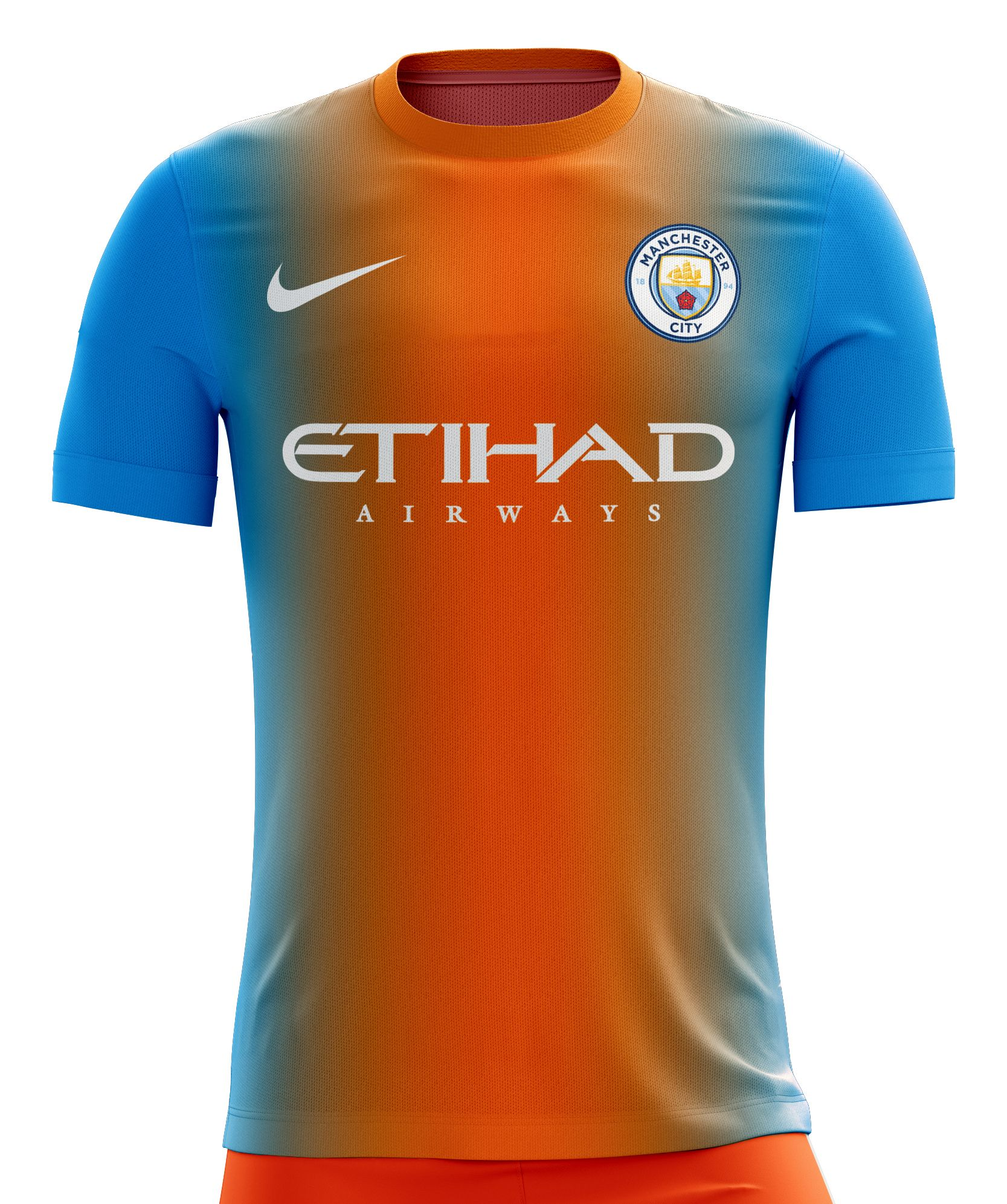 sports shoes 0bfb8 3c553 I designed football kits for Manchester City for the ...