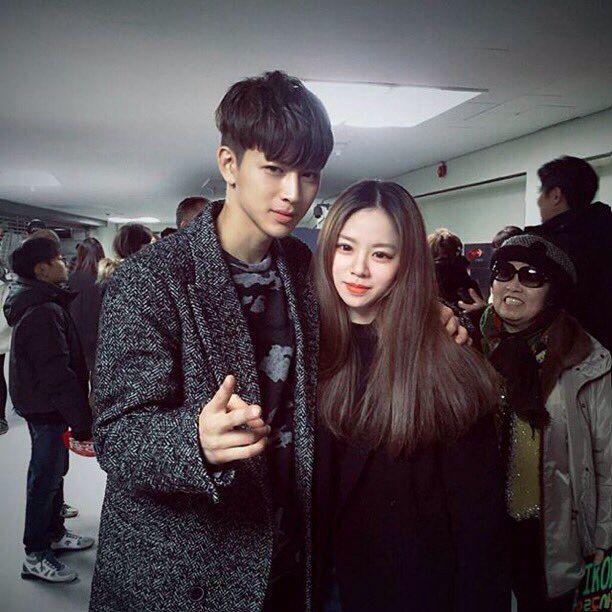 yunhyeong with song eunjin | Foto diri sendiri, Suami