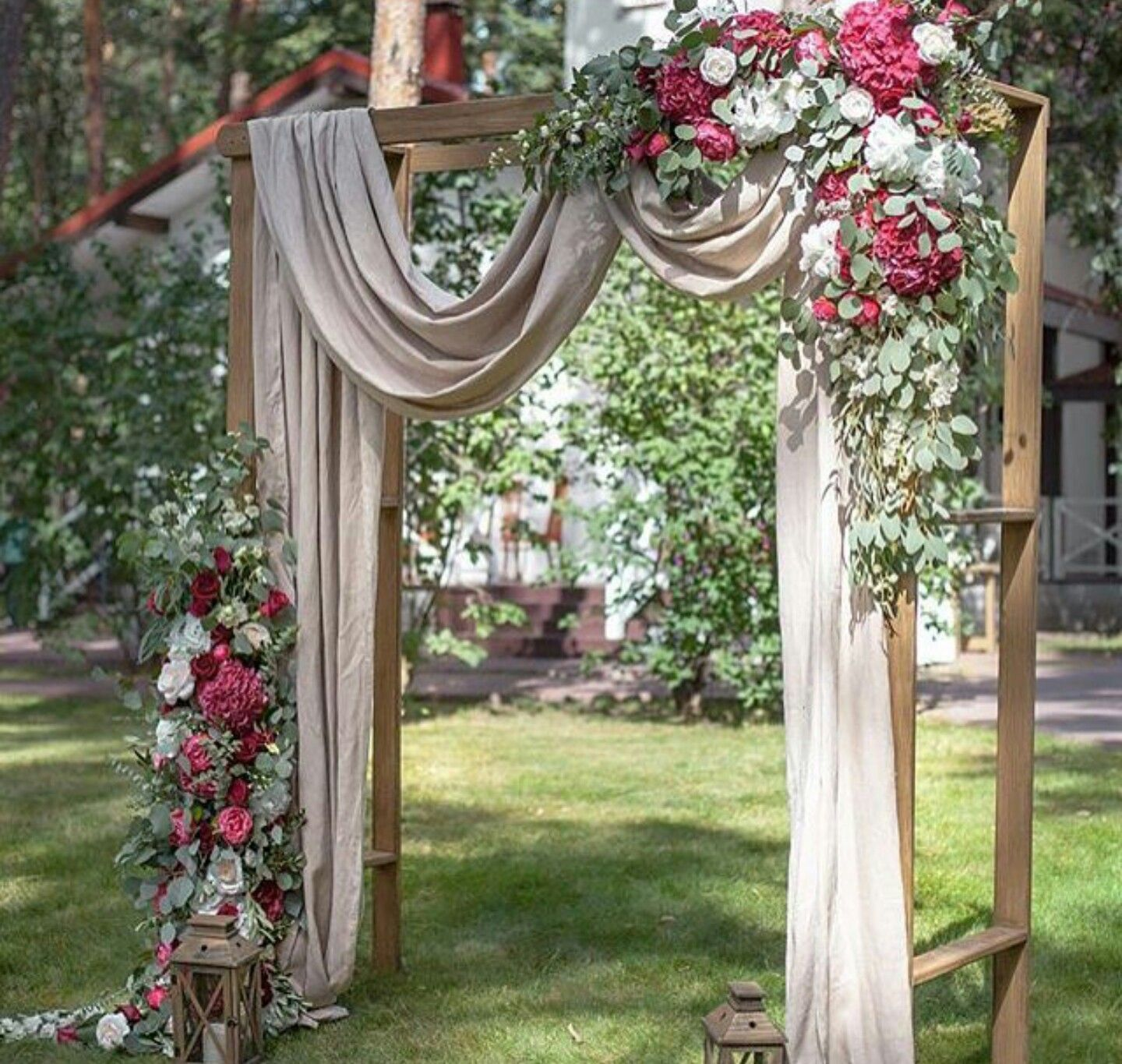 Rustic Wedding Altar Ideas: Pin By Michelle Myers On Wedding