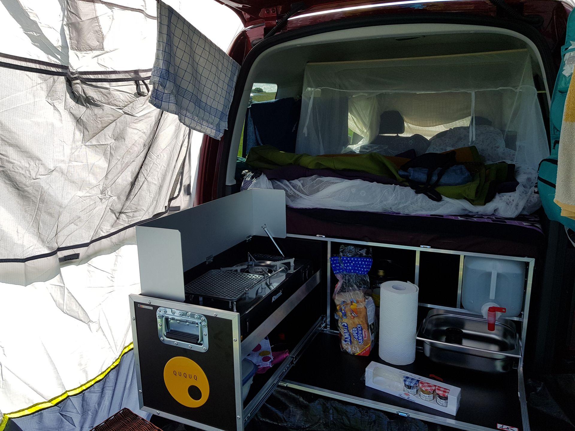 die ququq box f r den vw caddy im test vanarang de pinterest machst du sp lbecken und autos. Black Bedroom Furniture Sets. Home Design Ideas