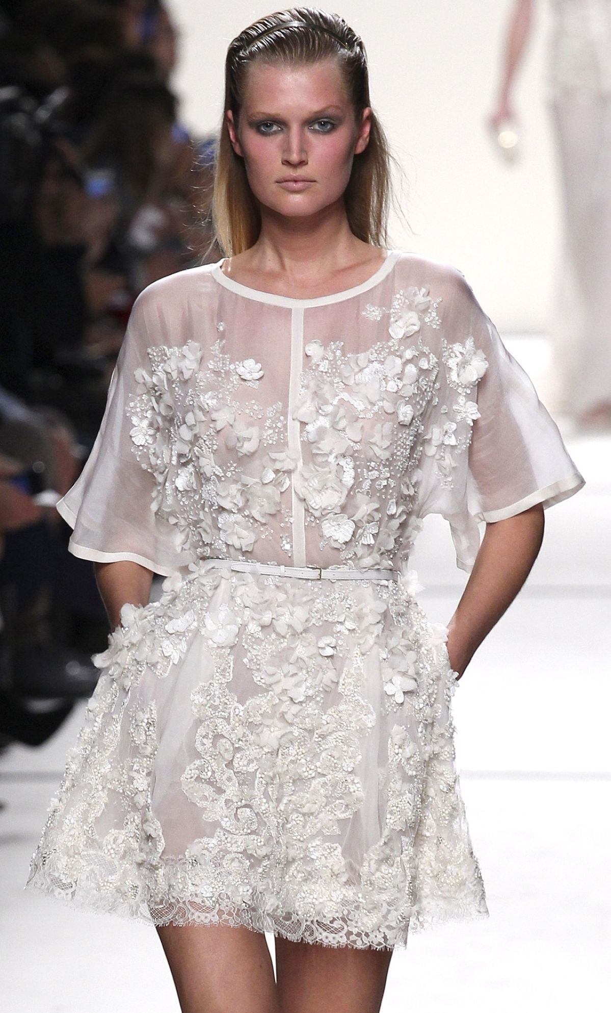 Elie Saab Ready To Wear Spring 2014   Couture   Pinterest   Spring ...