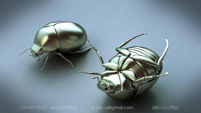 Model of a beetle bug...