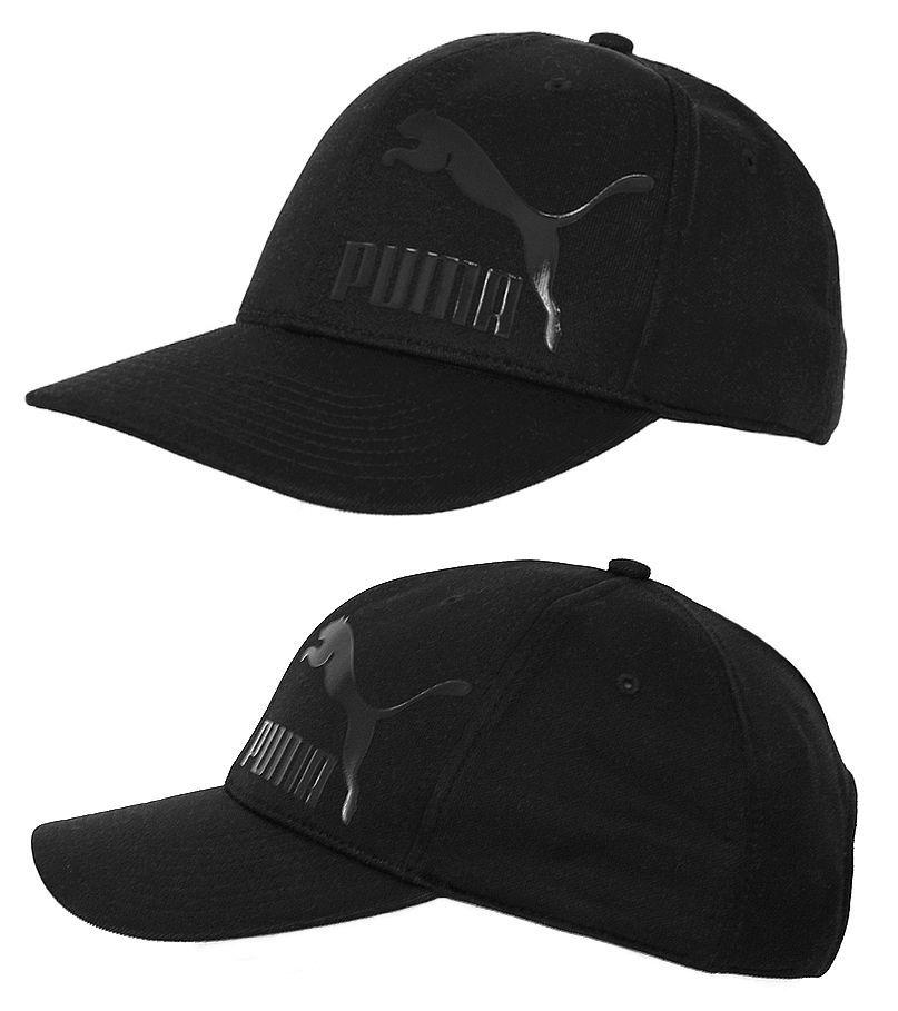 3956fc99574 Puma FTPA II Cap Kappe Basecap Mütze Beanie Lack Logo Print schwarz one size