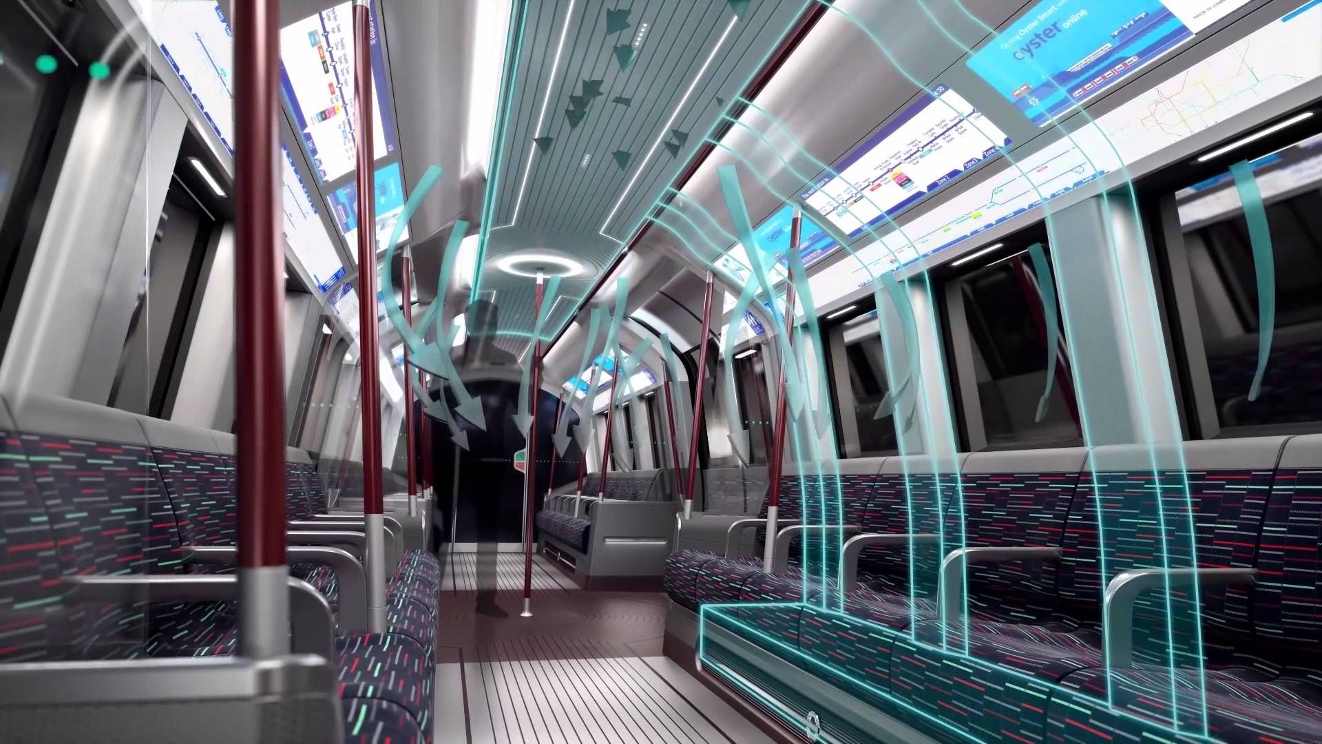 The new tube will be introduced first on the piccadilly for Interior designers central london