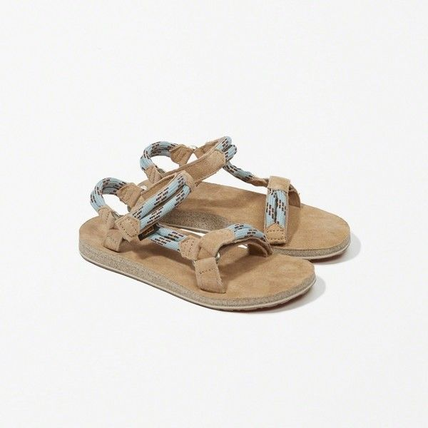 67ca276f0 Abercrombie   Fitch Teva Original Universal Rope Sandal (115 CAD) ❤ liked  on Polyvore featuring shoes
