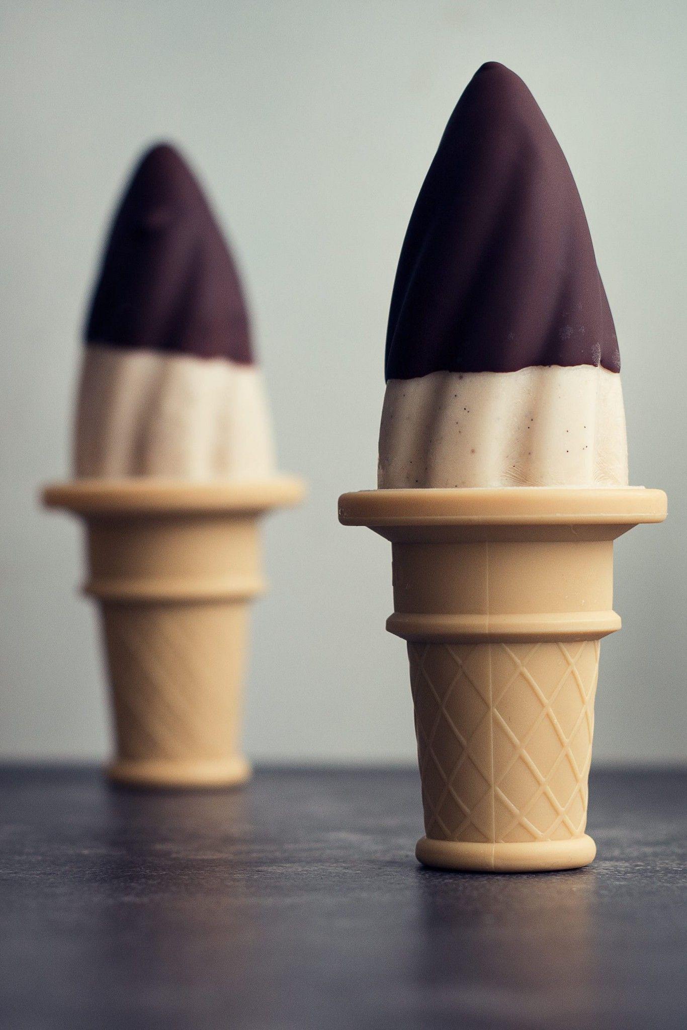 Low Calorie Chocolate Dipped Banana Ice Cream Pops Recipe - 86 Calories