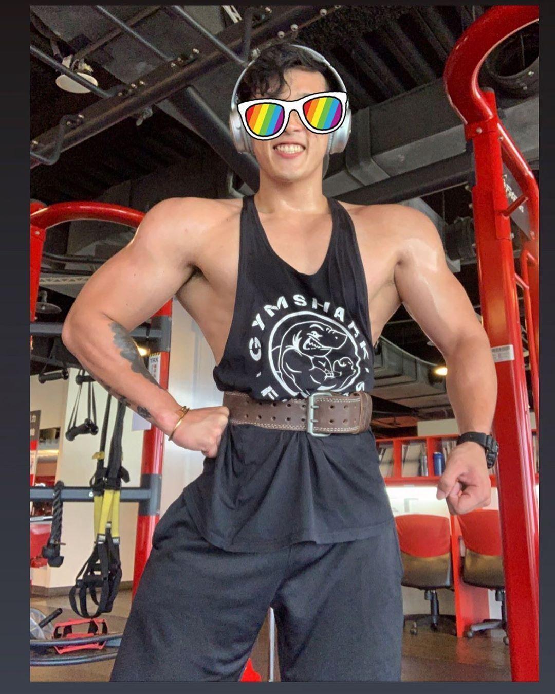 戰鬥模式開啟😤 #taiwan #fitness #mensphysique #bodybuilding #健身工廠 #德安廠 #私人教練 #減肥