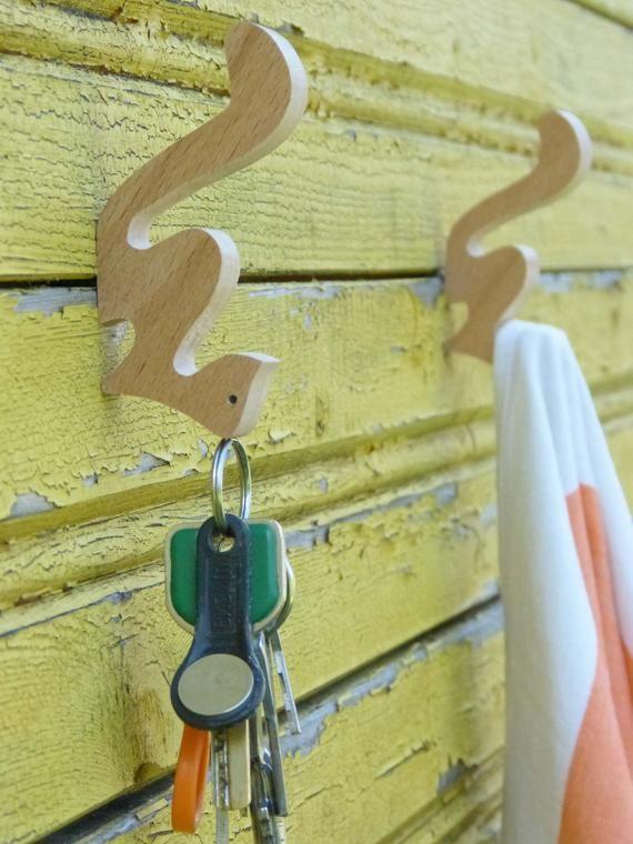 Animal Wall Hook, Kids Room Wall Hooks, Decorative Coat