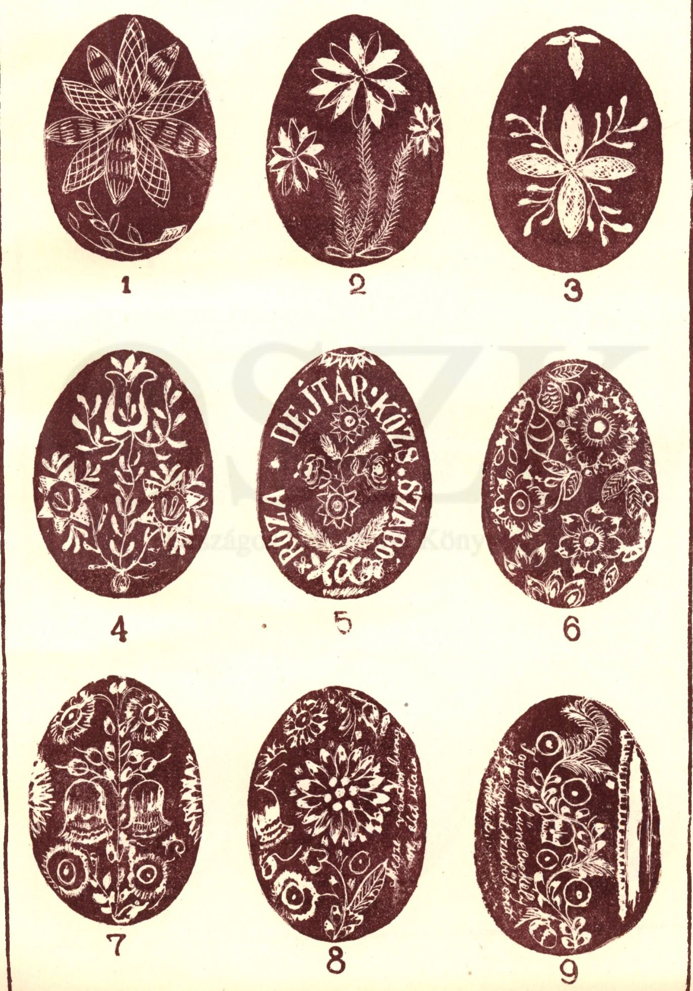Hungarian easter eggs from the us hungary pinterest easter
