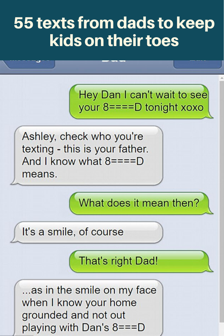 55 Texts From Dads To Keep Kids On Their Toes Funny Jokes Dad Jokes Funny Comedy