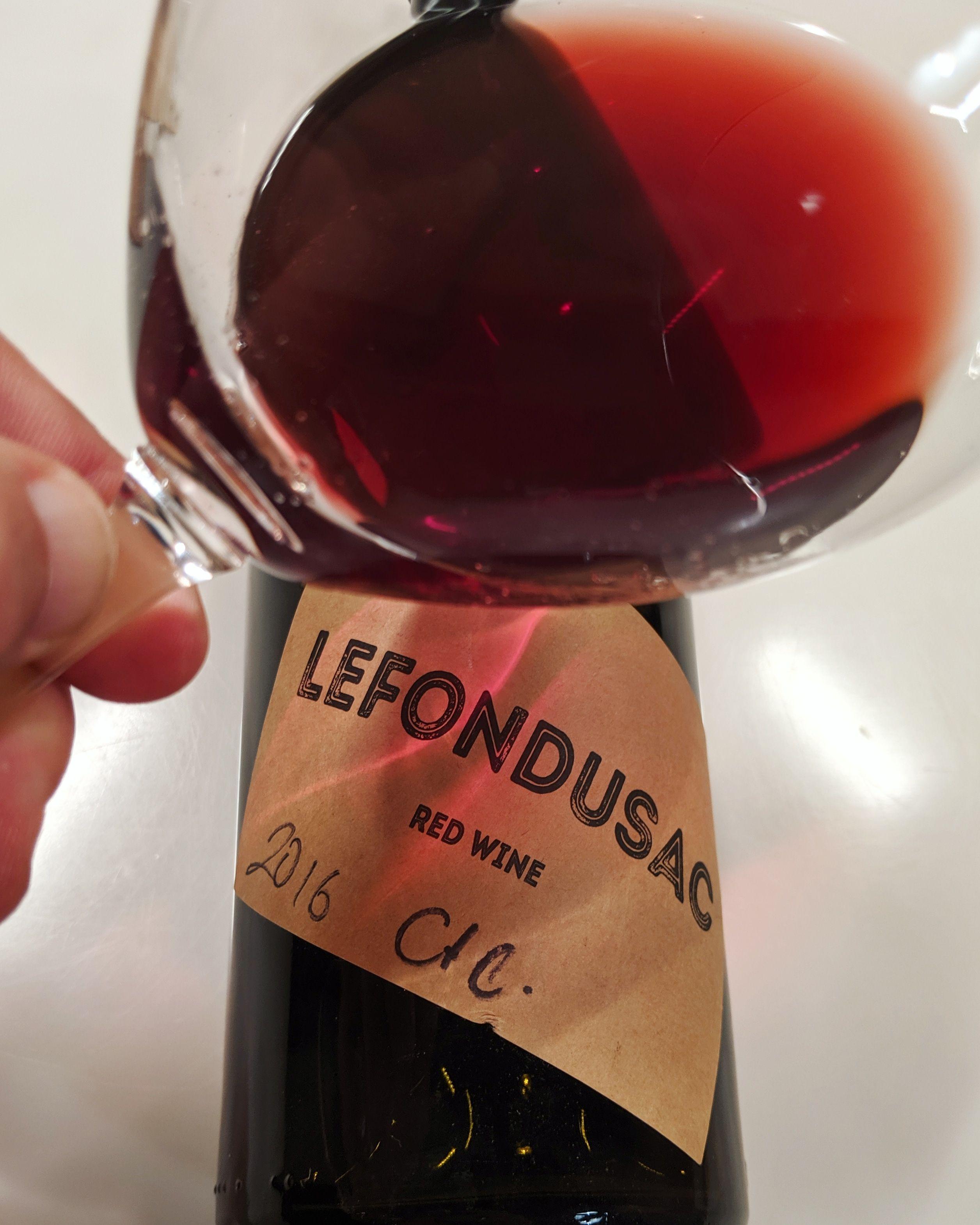 Lefondusuck Natural Wine Red Wine Wines