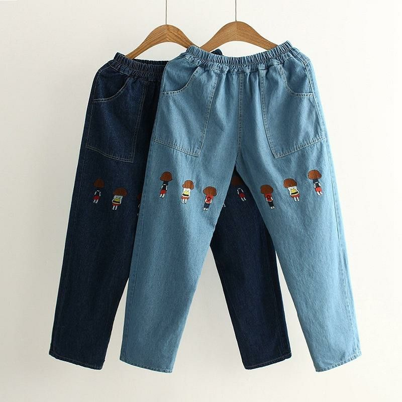 Pin by DOGDOG on cool guys PANTS/TROUSERS Embroidered