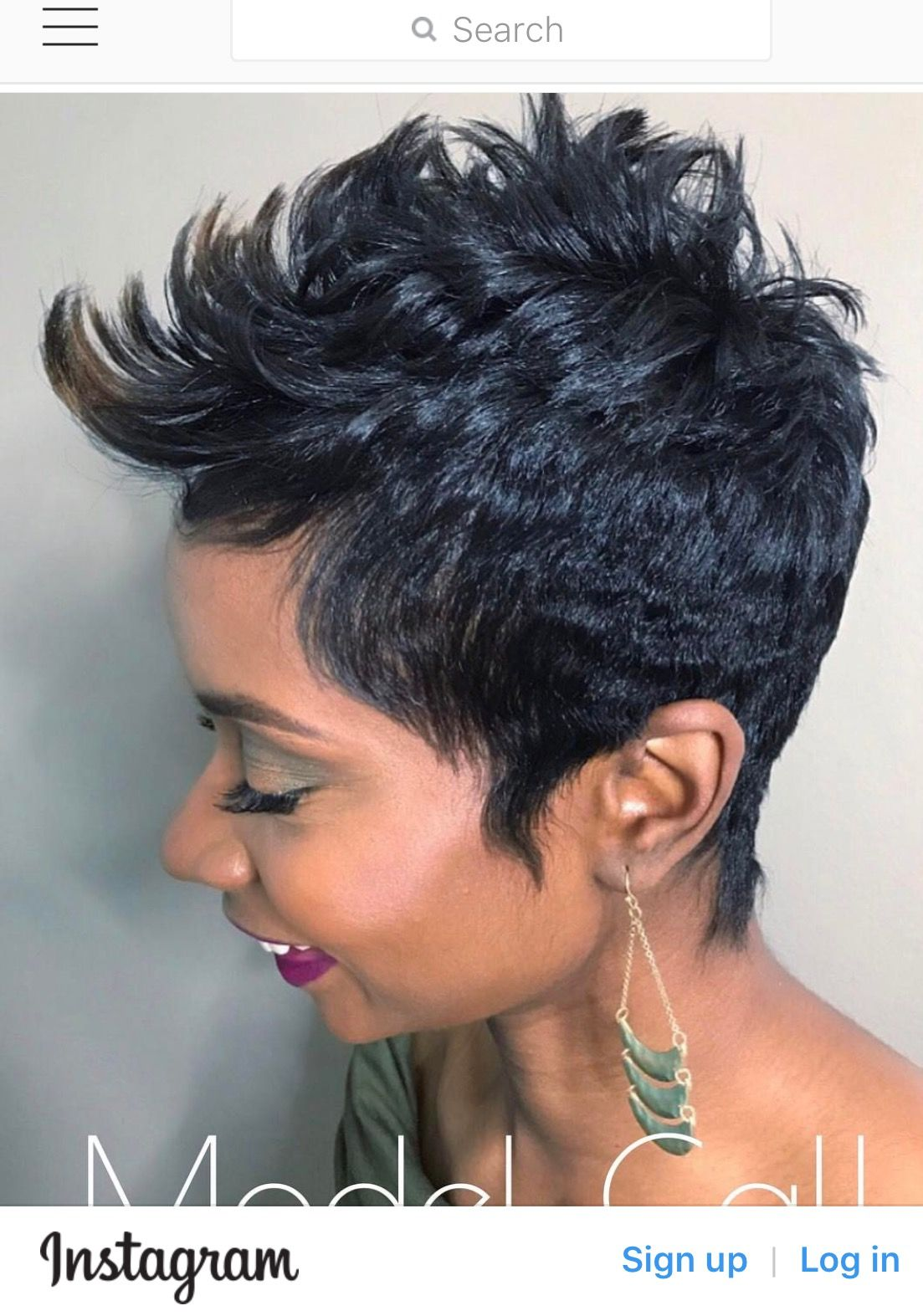 Pin by keah floyd on hairstyles pinterest short hair shorts and
