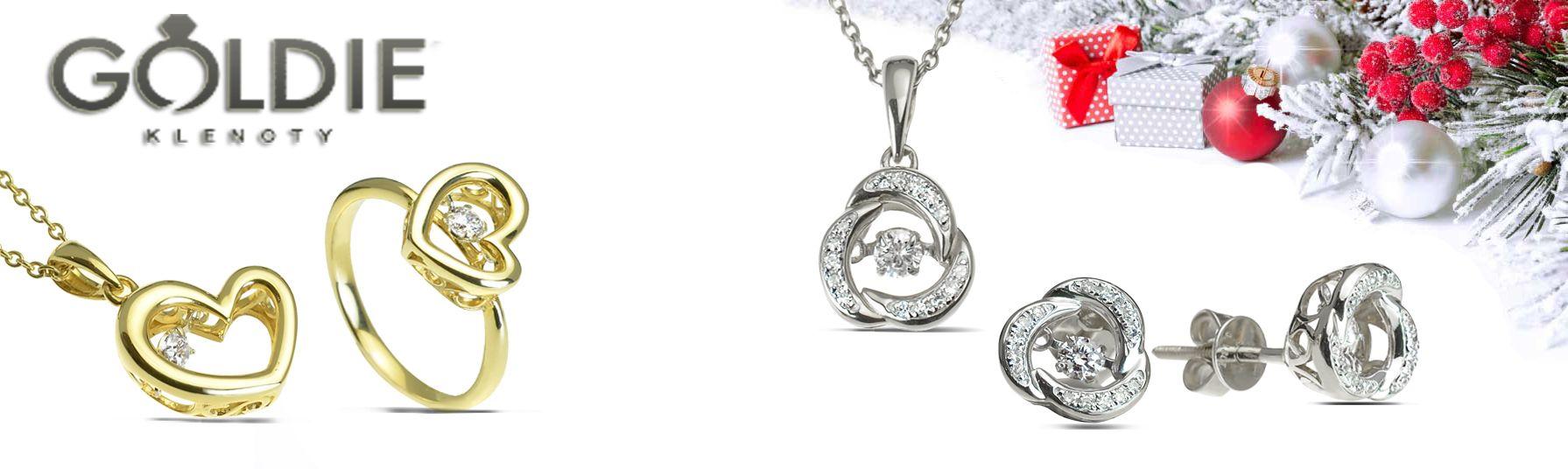 Súprava zlatá s perlou prívesok a náušnice  c40dbe5ffc8