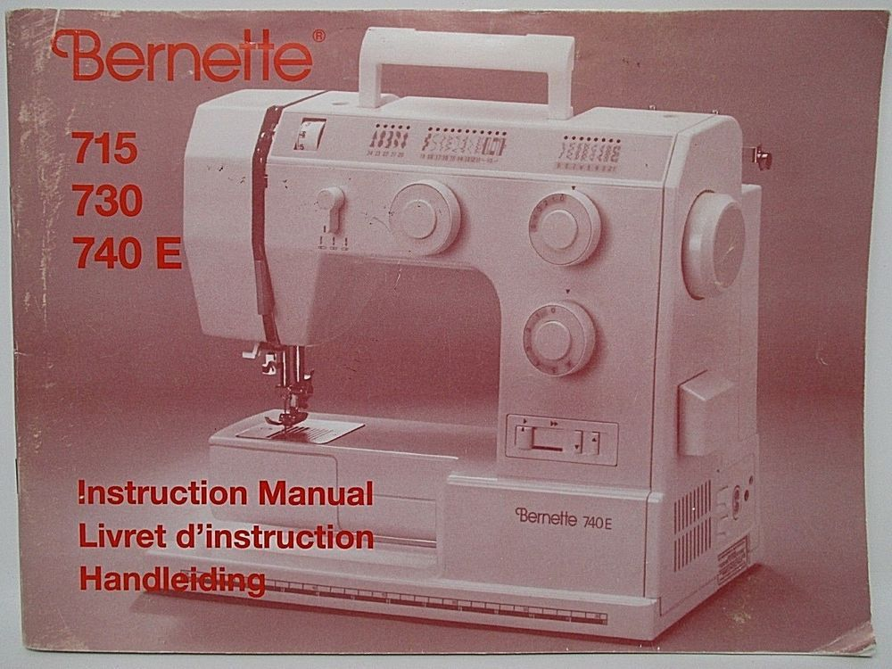 Details About Sewing Machine Manual Bernette 40 40 40E Deja Nu Amazing Bernette 730 Sewing Machine Reviews