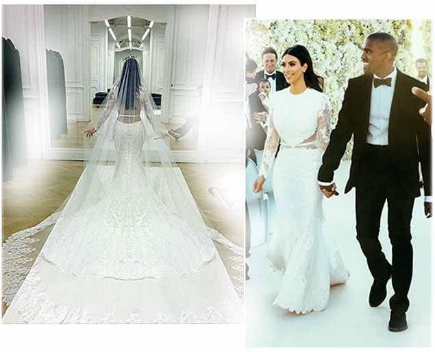 Kim Kardashian West Wedding Gown By Valentino 2014 At Florence Italy Kanye West Wedding Kim Kardashian And Kanye Kim Kardashian Kanye West