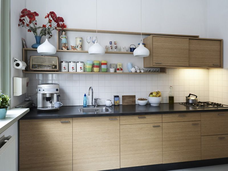 Simple Modern Kitchen Cabinet With Kitchens Open Shelves On Architecture Gallery Design Ideas