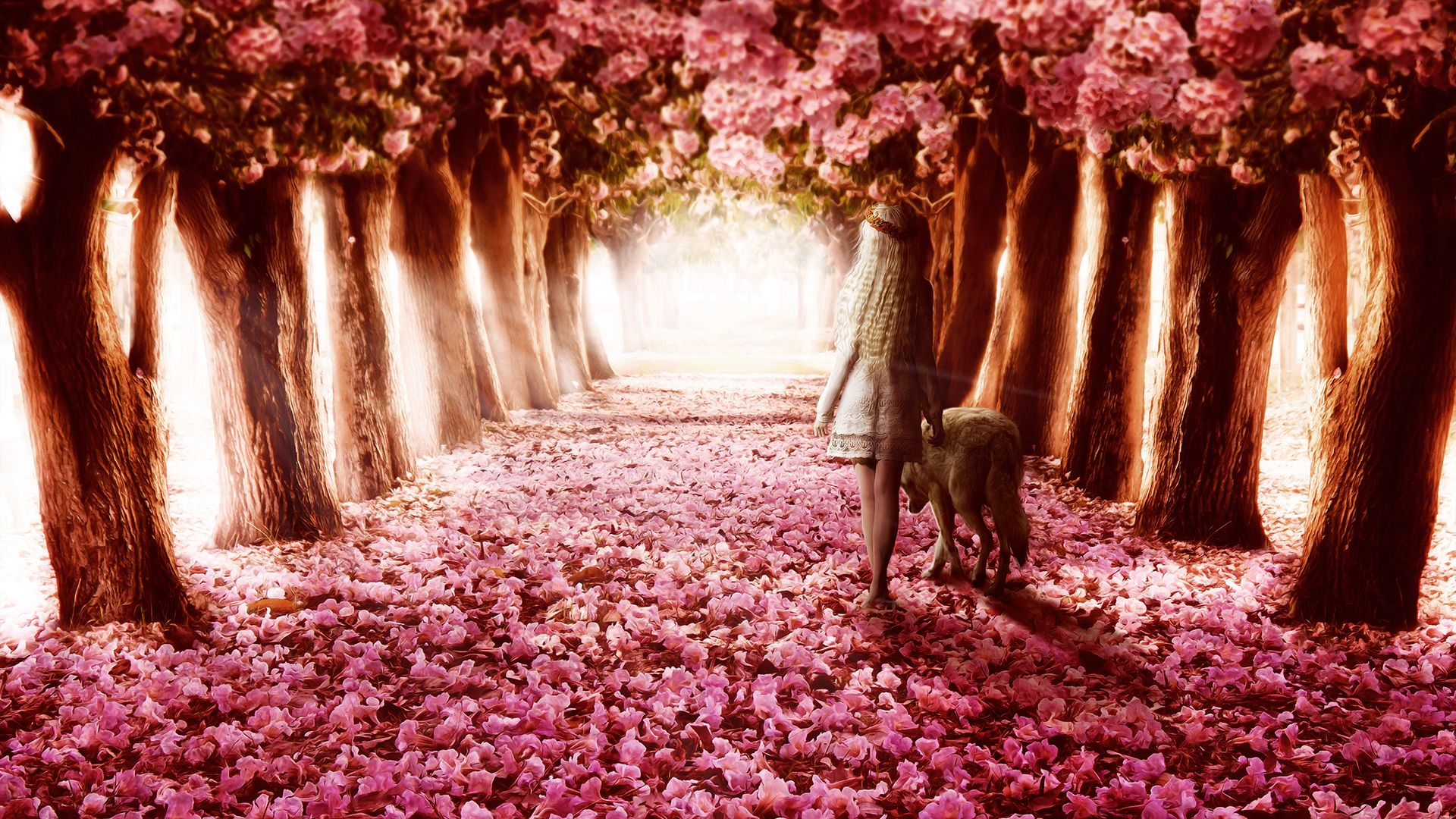 Path By Machiavellicro On Deviantart Plant Wallpaper Fantasy Landscape Beautiful Nature Wallpaper Flower wallpapers full hd fantasy