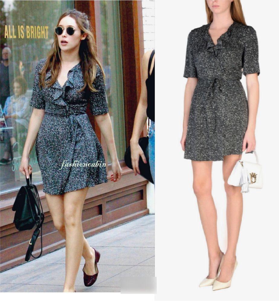 104d05693ed NWT Diane von Furstenberg DVF Savilla Silk Wrap Dress