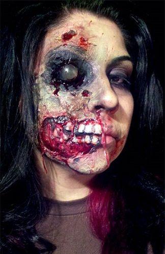 15 maquillajes para halloween zombies pinterest - Pinturas para halloween ...
